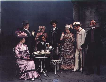 The cast of Charley's Aunt