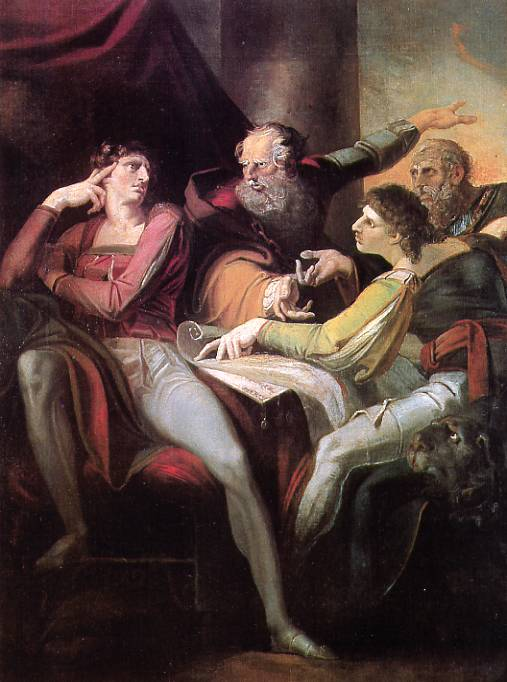 Fuseli's 'Dispute' from 'Henry IV', Part I