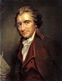 Thomas Paine by Milliere